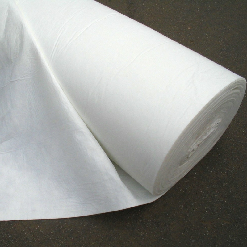 PP short fiber needle punched nonwoven geotextile