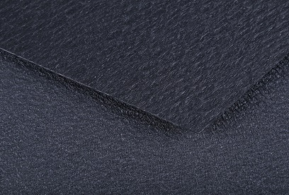 Single and double roughened/stationary geomembrane